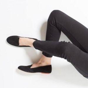 Sseko lalibella black flats loafer size 7.5
